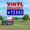 Vinyl Draught Texas